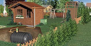 abwassertank kaufen schwimmbad und saunen. Black Bedroom Furniture Sets. Home Design Ideas