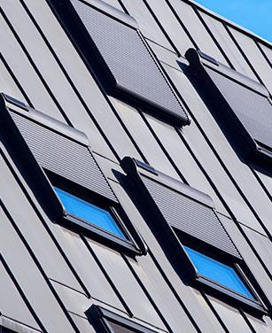 Dachfenster Rollläden