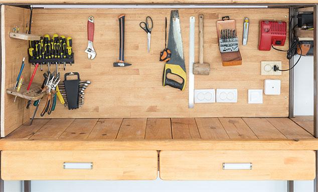 Nützliche Werkbänke