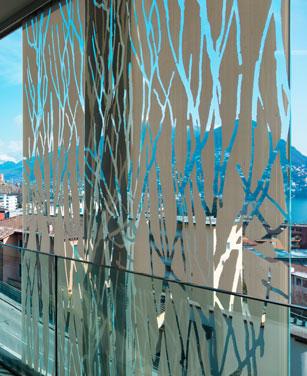 Dekorative Fensterfolien