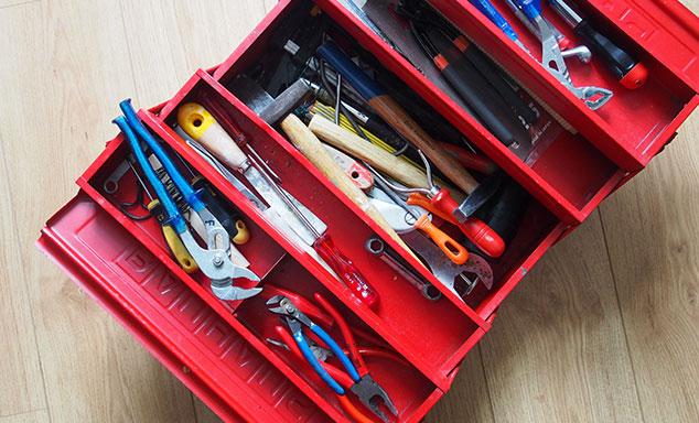 Praktische Werkzeugkoffer