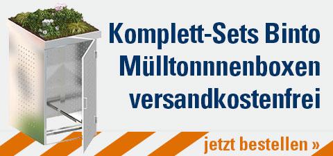 Komplett-Sets Binto Mülltonnenboxen versandkostenfrei