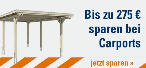 Carport-Sale bis zu 275€ sparen
