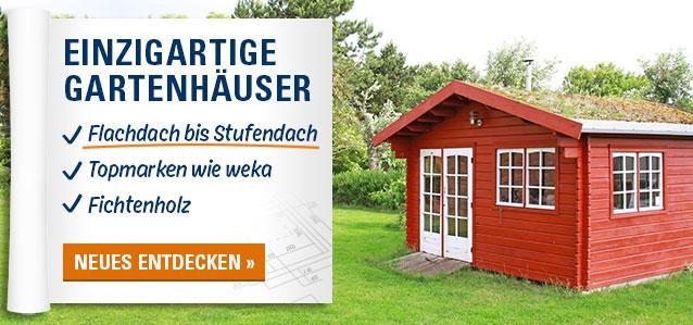 Einzigartige Gartenhäuser aus Holz