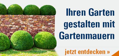 Gestalten Sie Ihren Garten mit Gartenmauern