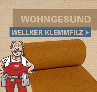 Wellker Jute Klemmfilz