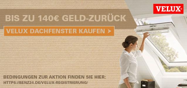 VELUX Dachfenster bis zu 70€ Geld-Zurück Aktion