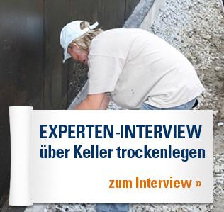Experten-Interview über Keller trockenlegen