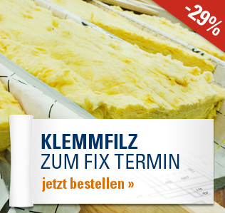 Klemmfilz zum Fix Termin