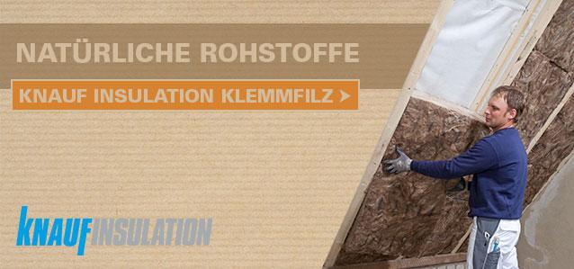 Knauf Insulation Klemmfilz