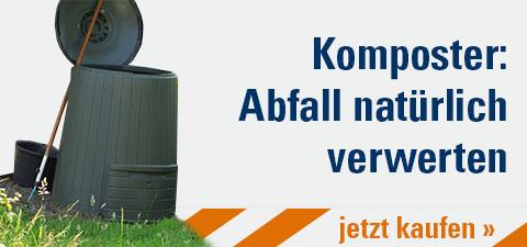 Komposter: Abfall natürlich verwerten