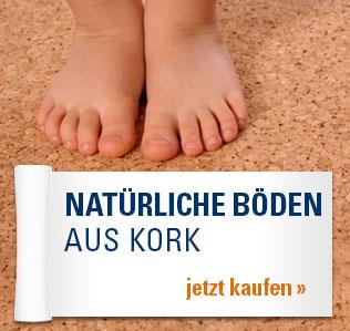 Natürliche Böden aus Kork
