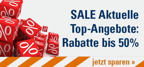 SALE Aktuelle Top-Angebote: Rabatte bis 50%