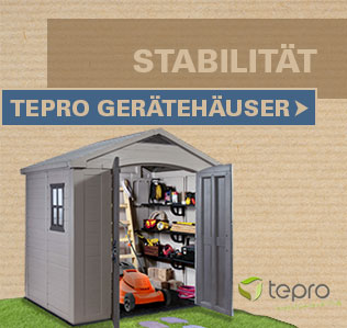 Tepro Gerätehäuser