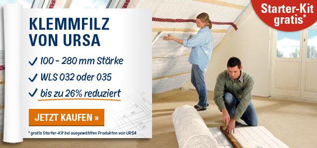 Gratis Starter-Kit bei ausgewählten Produkten von URSA