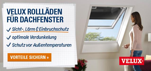 VELUX Dachfenster-Rollläden
