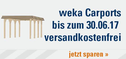 Kostenloser Versand weka Carports Juni