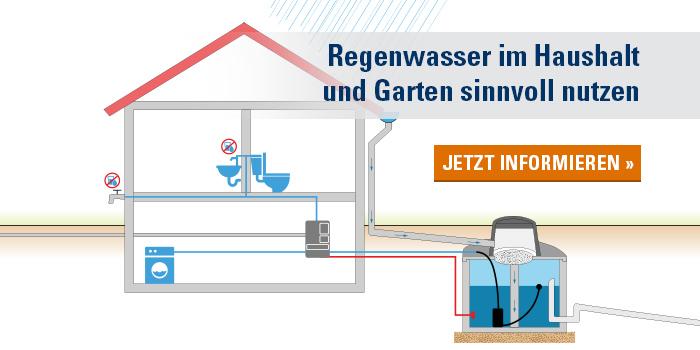 Regenwasserhausanlage