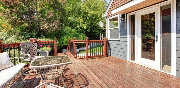 WPC und Holz Terrassen len