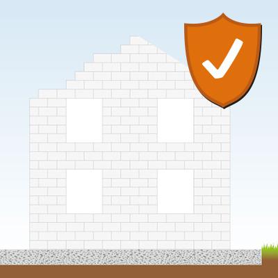 Die vier wichtigsten Bauversicherungen