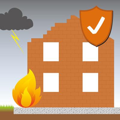 Feuerrohbauversicherung – Versicherung gegen Brandschäden