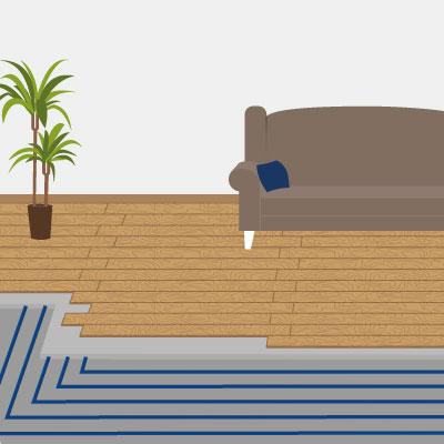Fußbodenheizung – ein Experte klärt auf