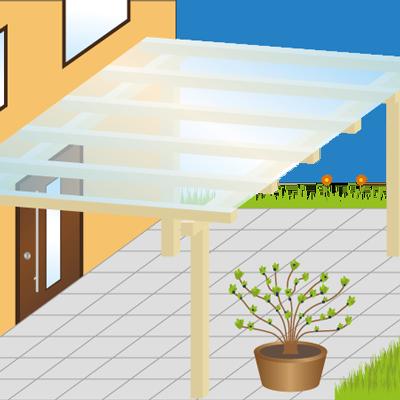 terrassen berdachungen carport gartenhaus baugenehmigung ja oder nein. Black Bedroom Furniture Sets. Home Design Ideas