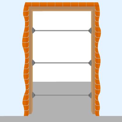Favorit Wie werden Türzargen eingebaut? BF11