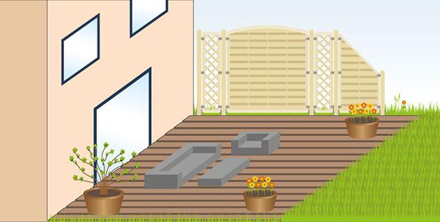 ... Welches Holz Für Terrasse Und Sichtschutz?