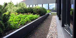 ACO Fassadenentwässerung