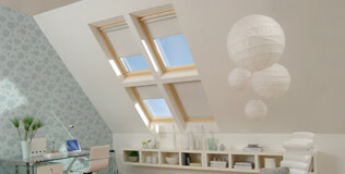 RoofLITE Dachfenster Rollos