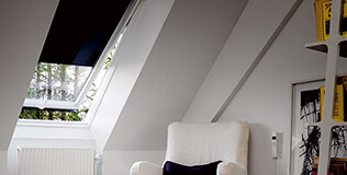 Solar Dachfenster Rollläden