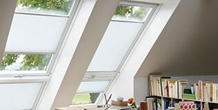 Plissee Dachfenster Rollos