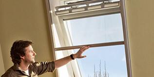 Insektenschutz Dachfenster Rollos