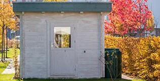 Gartenhäuser Flachdach
