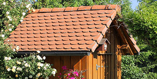 Gartenhäuser Satteldach