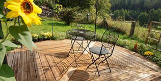 thermokiefer terrassendielen 26x117mm kombiprofil teak. Black Bedroom Furniture Sets. Home Design Ideas