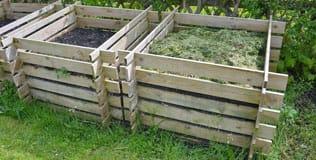 Holz Komposter