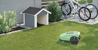 Mähroboter Garagen