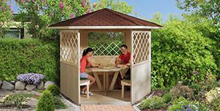 weka Holzpavillons