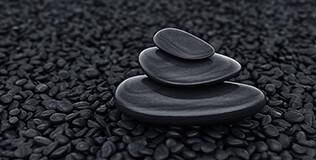 zierkies bruchsteine schwarz g nstig kaufen benz24