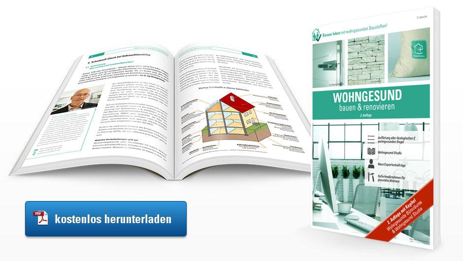 E-Book Ratgeber wohngesund bauen und renovieren 2. Auflage zum Download