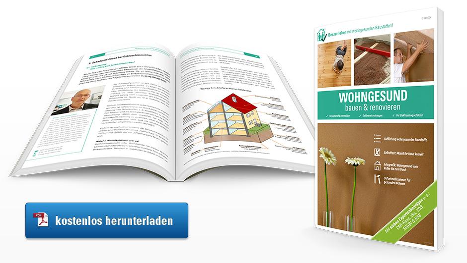 E-Book Ratgeber wohngesund bauen und renovieren zum Download