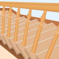 Treppe Ohne Grossen Aufwand Renovieren