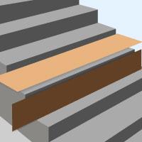 treppenstufen verkleiden und einen neuen look verpassen. Black Bedroom Furniture Sets. Home Design Ideas