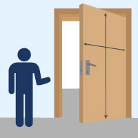 Top Welche Maße haben Zimmertüren? PK84