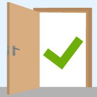 Gut bekannt Welche Maße haben Zimmertüren? VX05